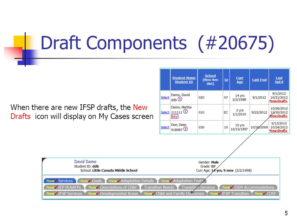 IFSP - #20650 6 Interim can be selected instead of choosing the default Normal from the dropdown when creating an IFSP document.