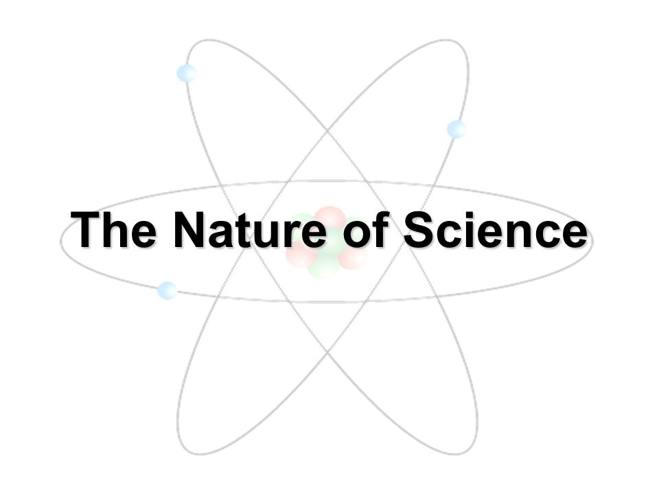 What is Science??? Science is a particular way of understanding the natural world.