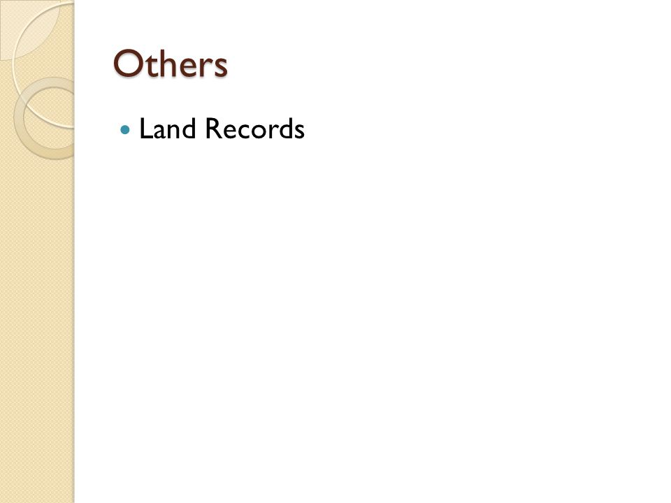Others Land Records