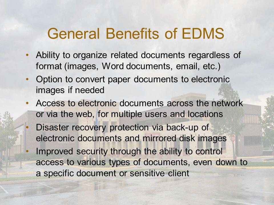 Sharepoint vs. EDMS