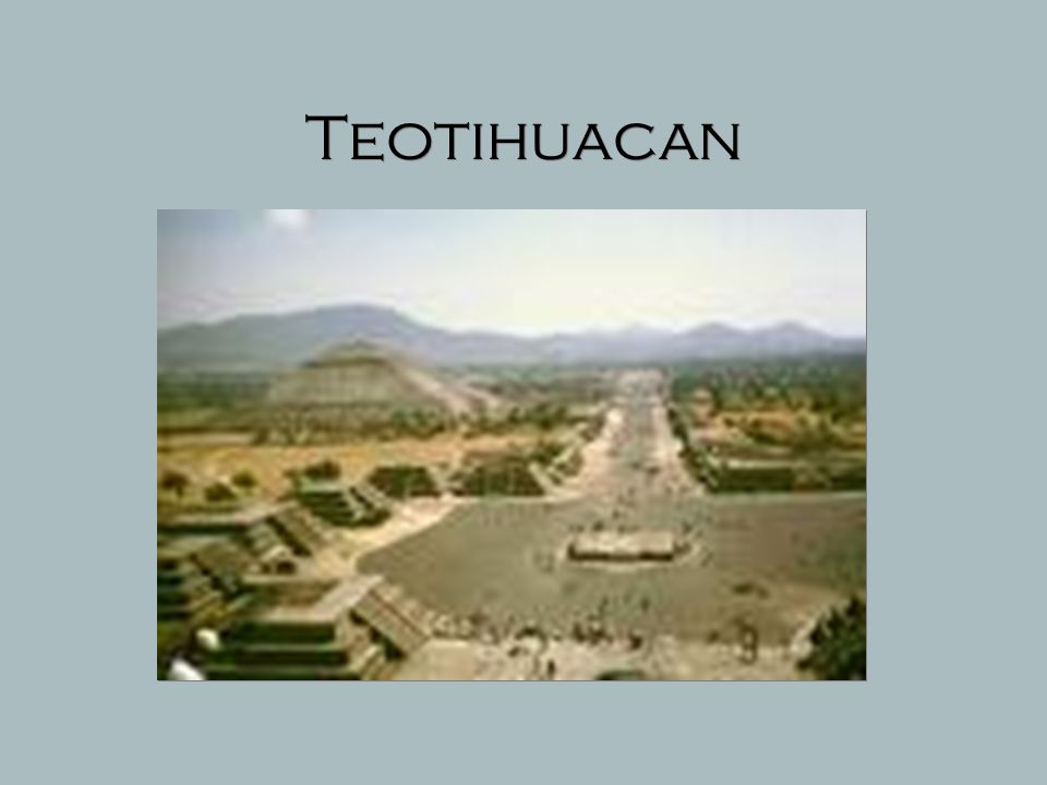 Teotihuacan  Expanding human populations led to congregations of people in cities and to the emergence of what is believed to be the largest city in the Americas.