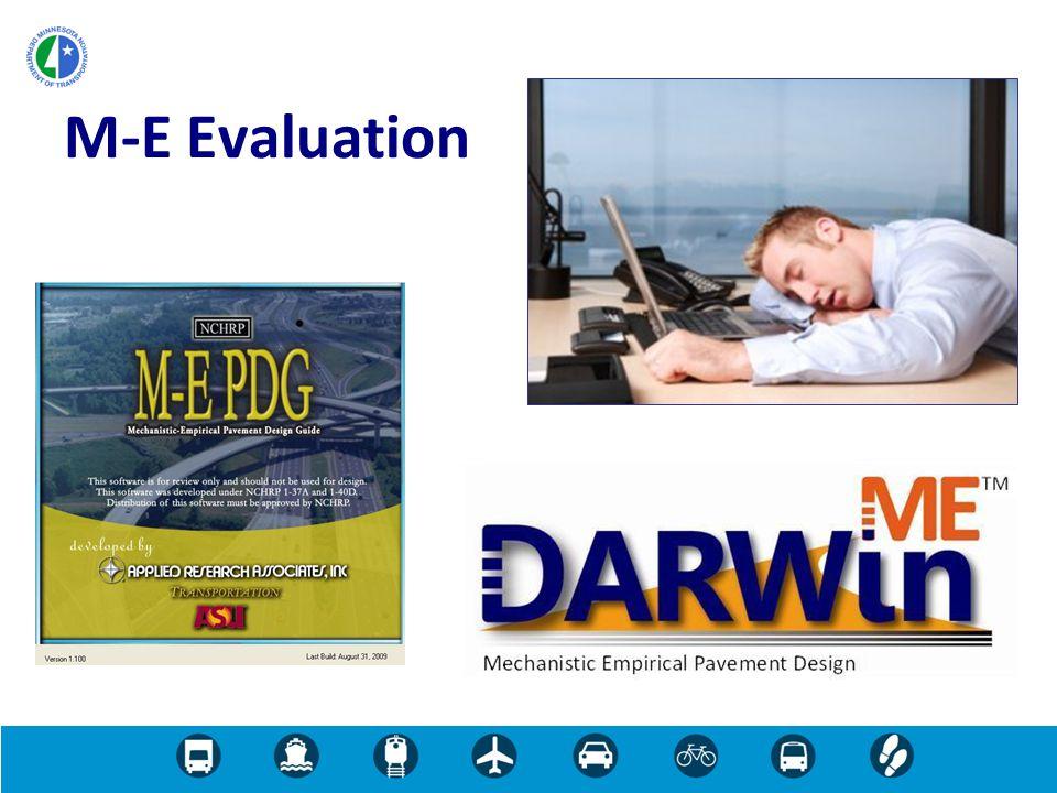M-E Evaluation