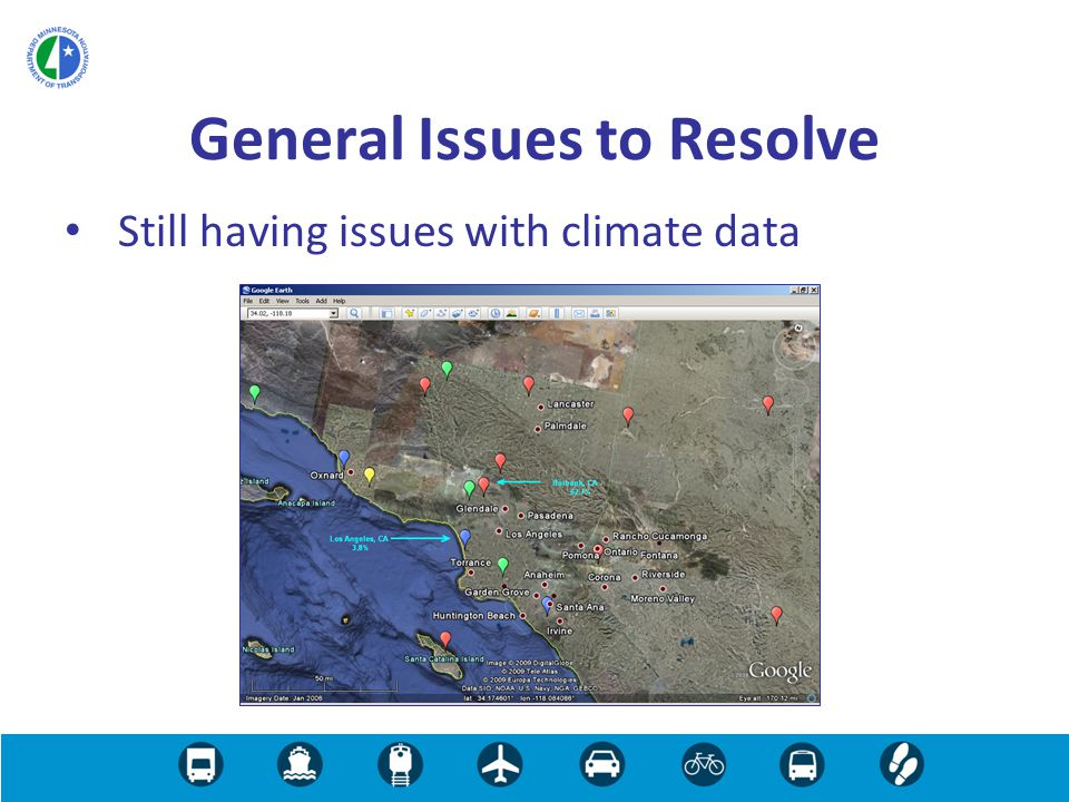 Still having issues with climate data General Issues to Resolve