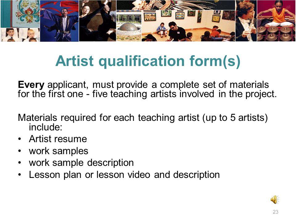 Collaborator list form Collaborators - List individuals, organizations, or venues. 22