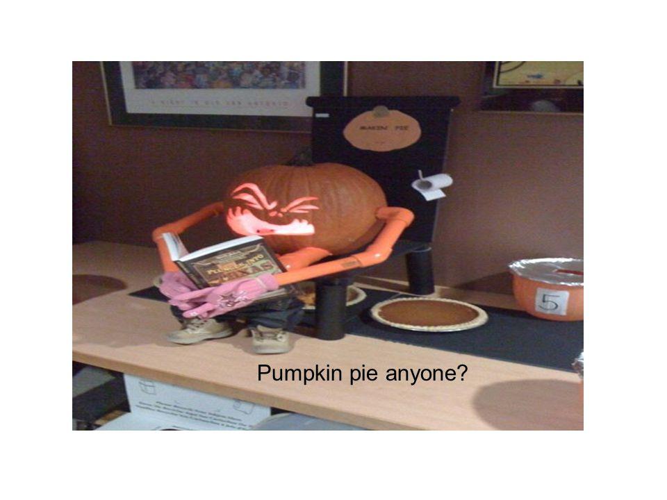 Pumpkin pie anyone