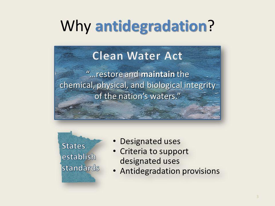 What is antidegradation? 4