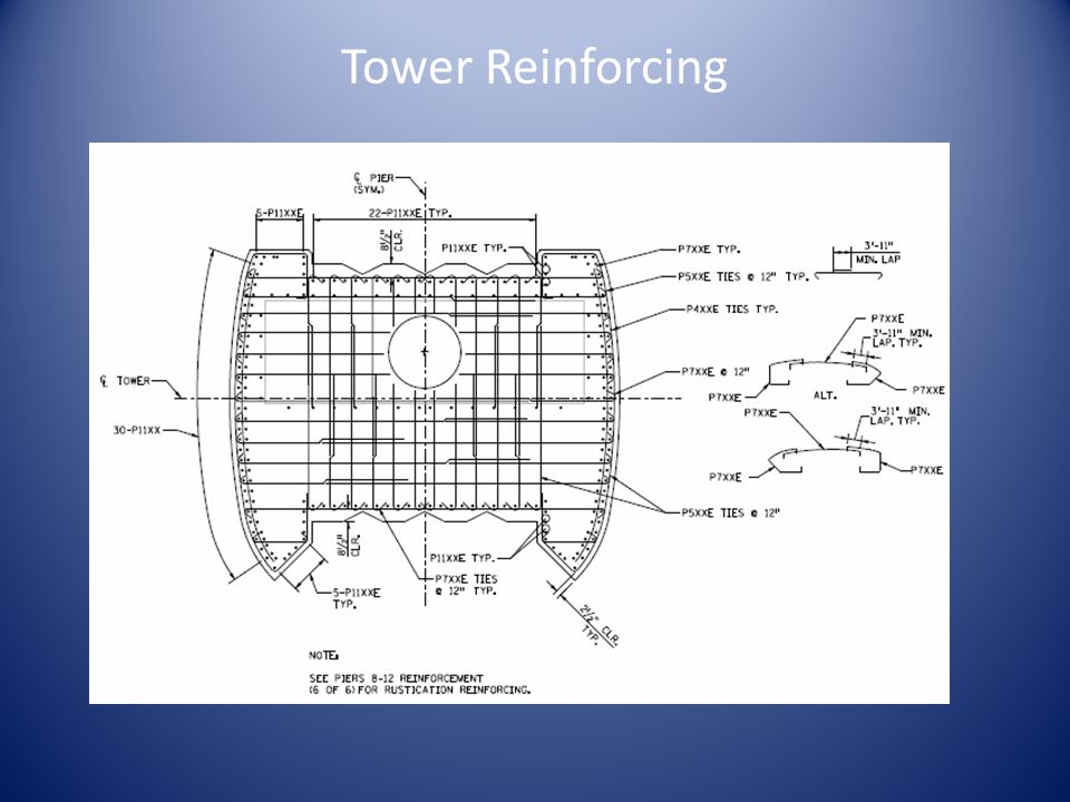 Tower Reinforcing