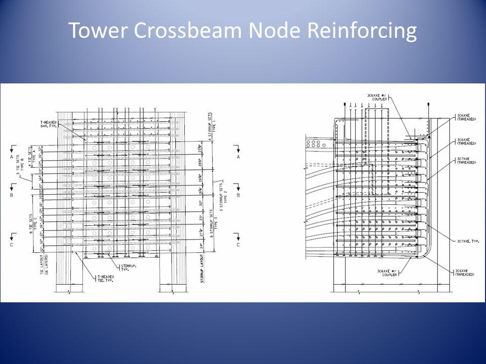 Tower Crossbeam Node Reinforcing