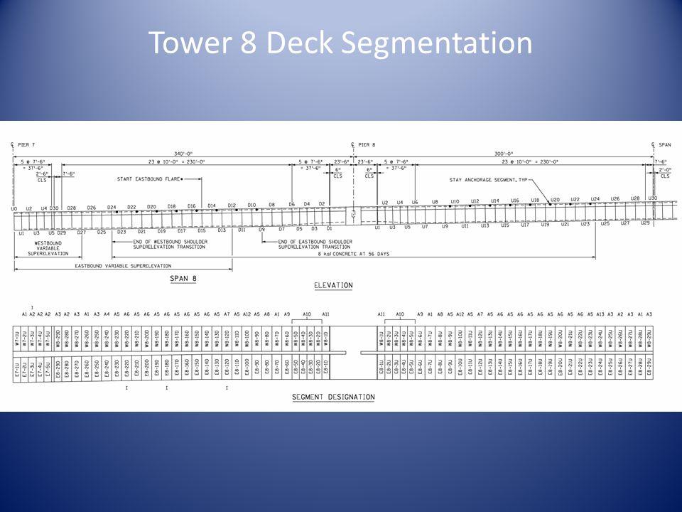 Tower 8 Deck Segmentation