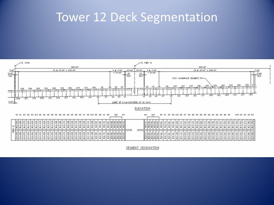 Tower 12 Deck Segmentation