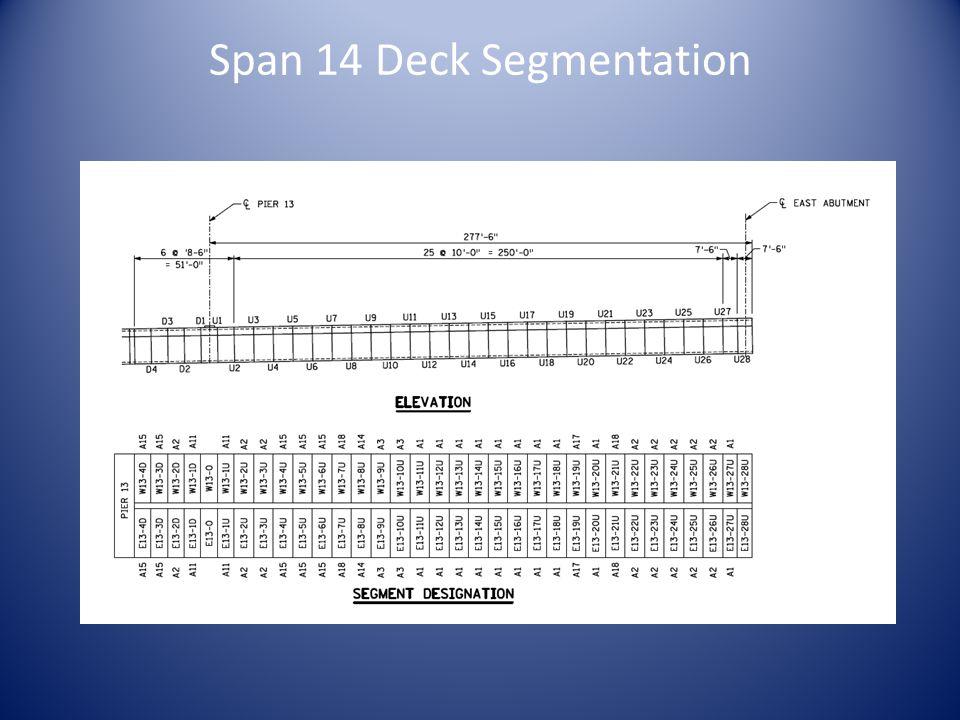 Span 14 Deck Segmentation