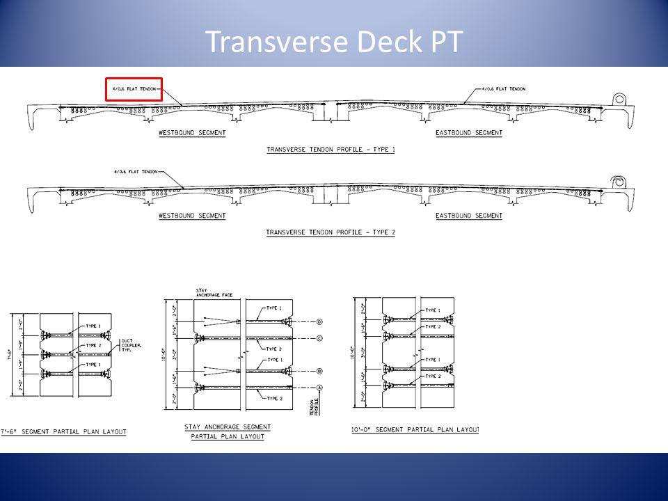 Transverse Deck PT