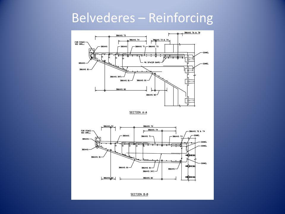 Belvederes – Reinforcing