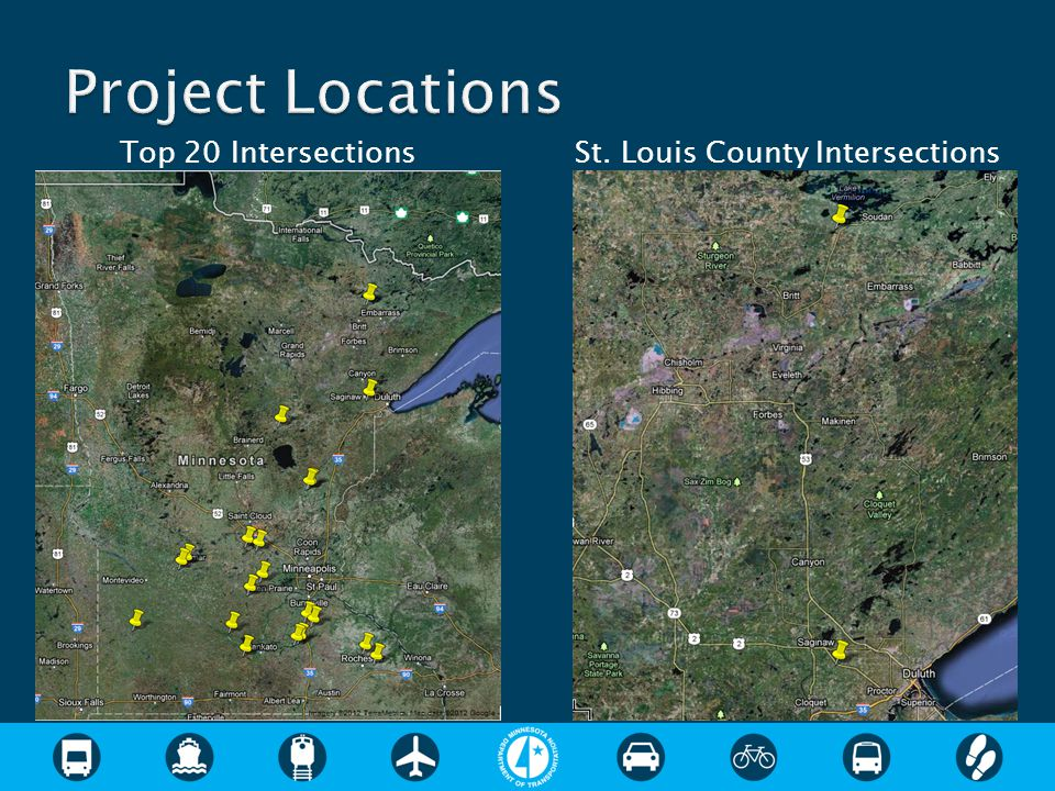 Top 20 Intersections St. Louis County Intersections