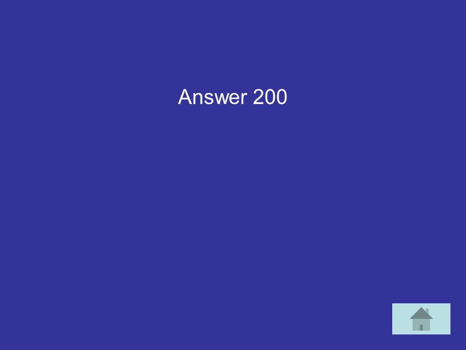 c1a2 Answer 200