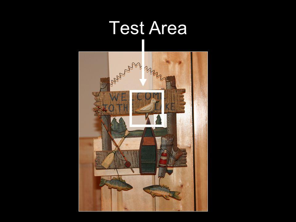 Test Area