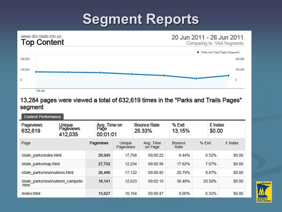 Segment Reports