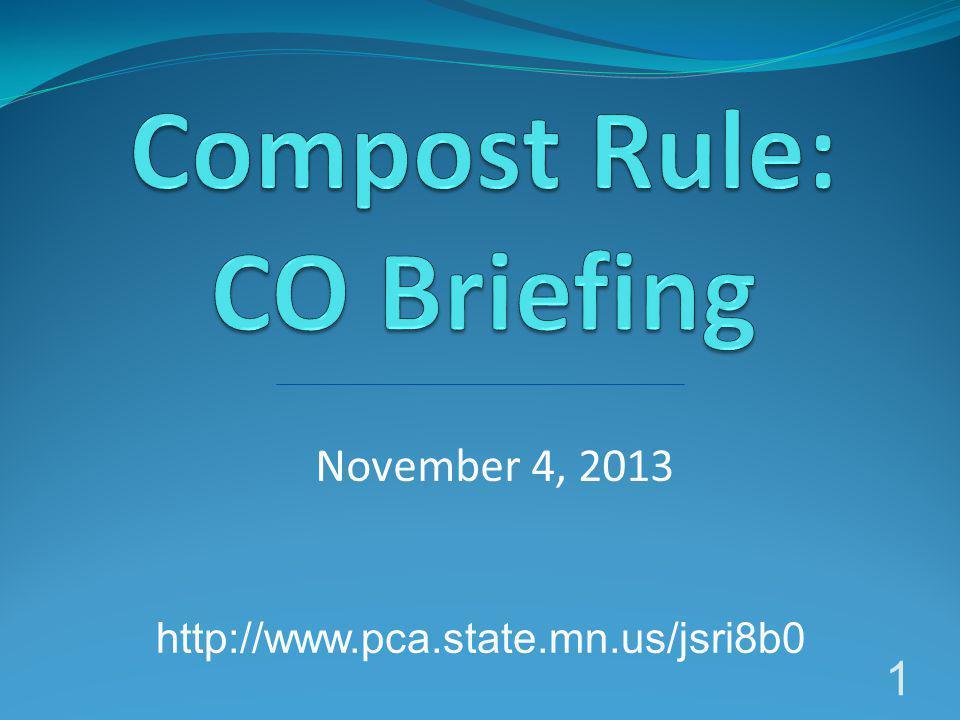 November 4, 2013 1 http://www.pca.state.mn.us/jsri8b0