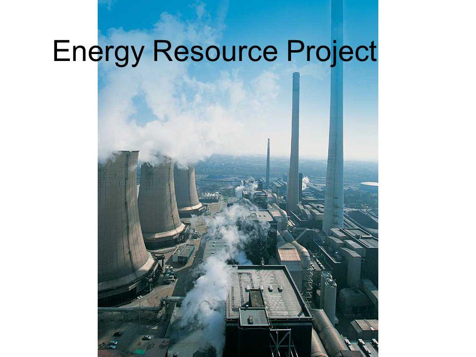 Energy Resource Project
