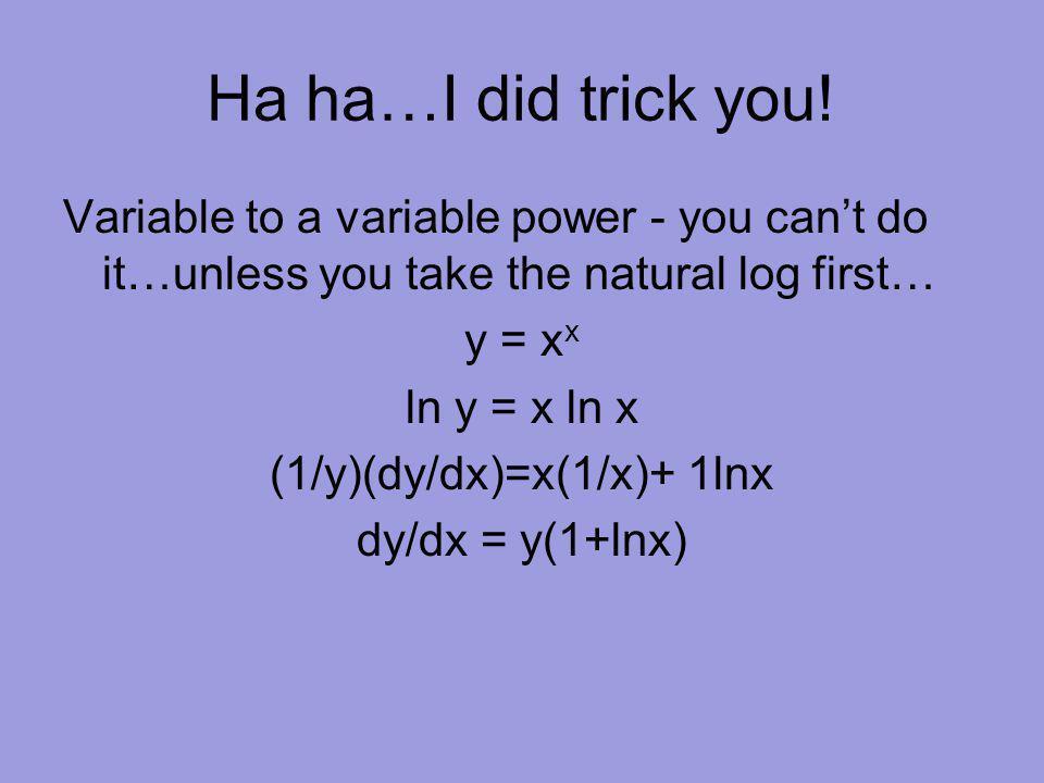 Ha ha…I did trick you.