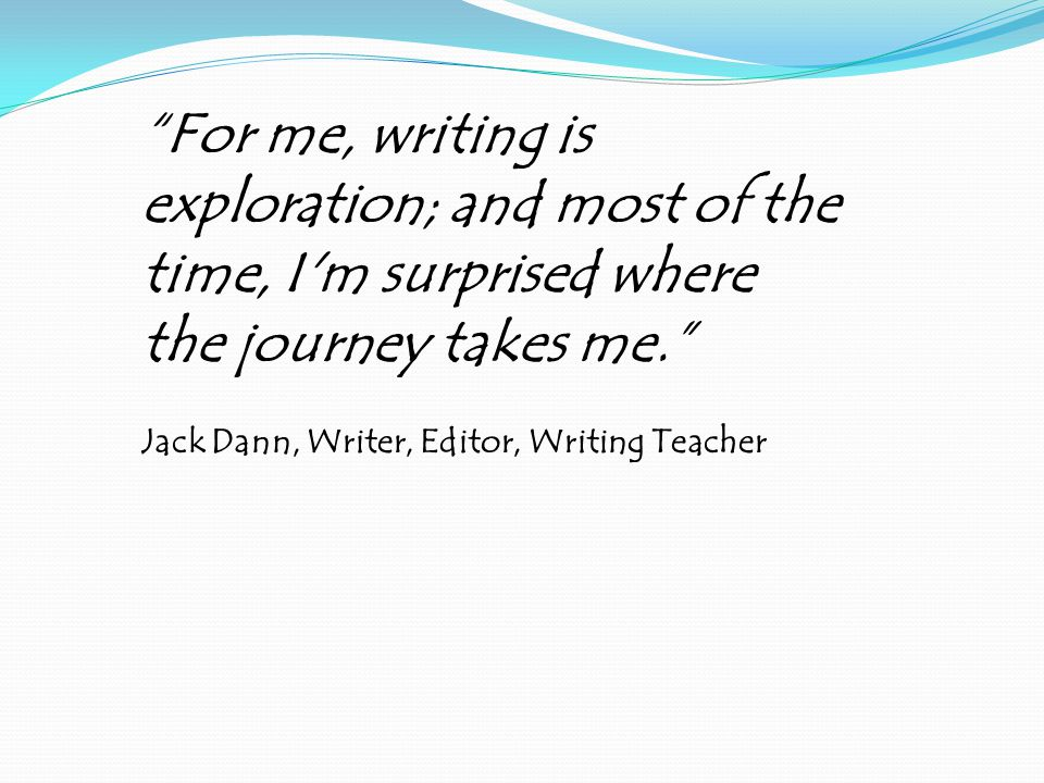 What is Writers Workshop.