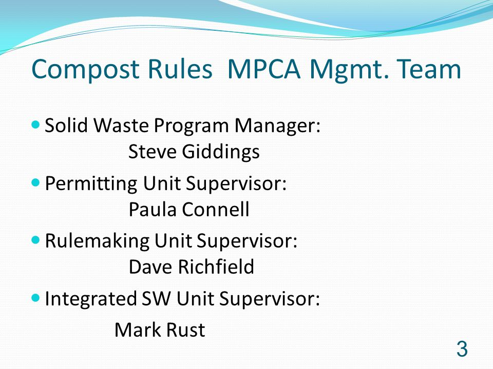 Compost Rules MPCA Mgmt.