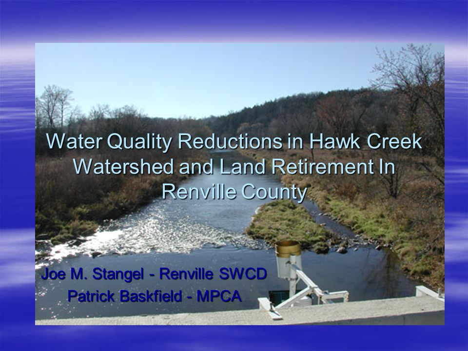 Easements in Renville County and Beaver Creek Watershed