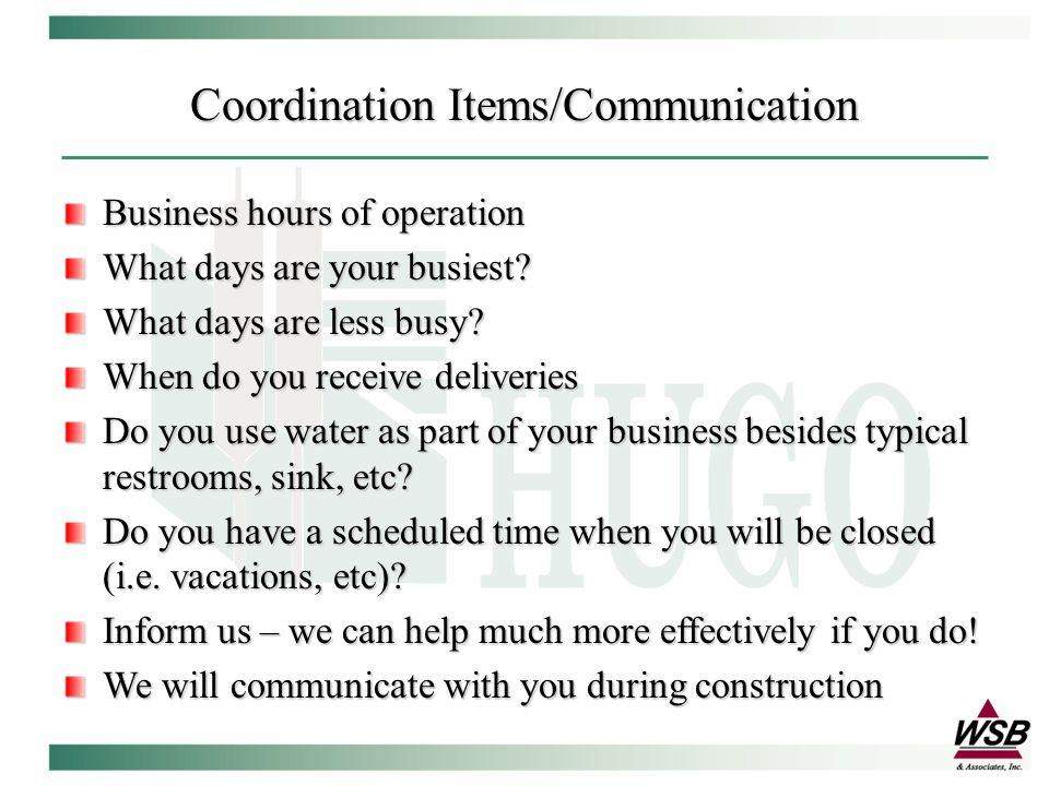 Construction Contacts Steve Duff – Sr Eng.