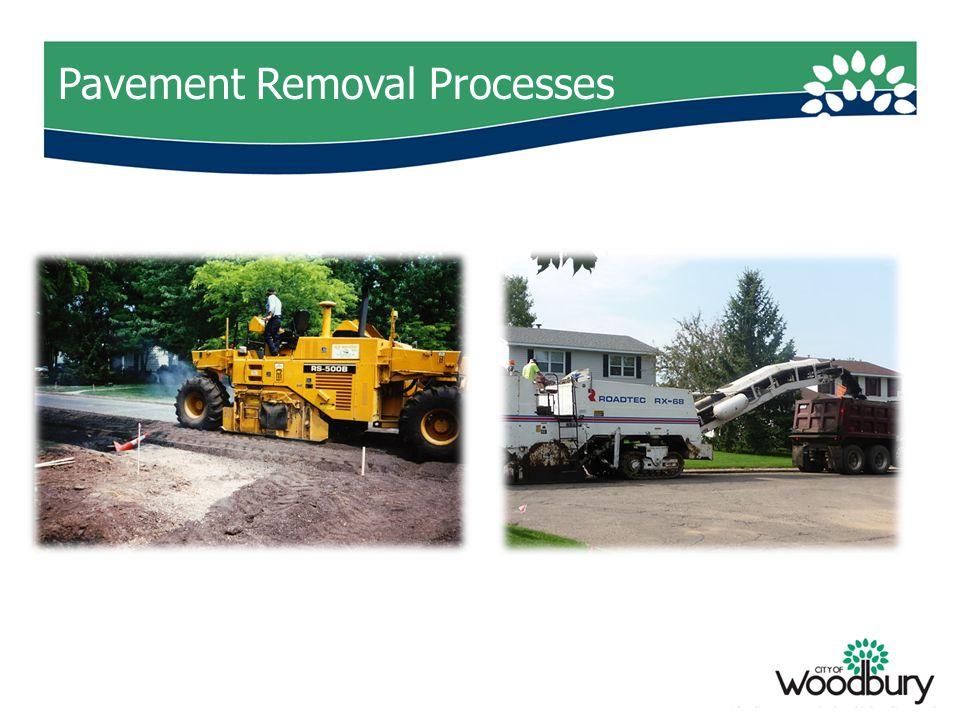 Pavement Removal Processes
