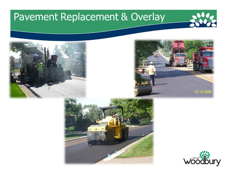 Pavement Replacement & Overlay