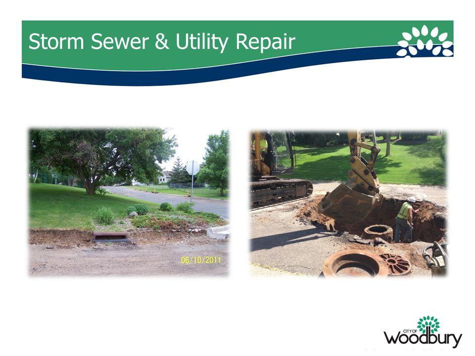 Storm Sewer & Utility Repair