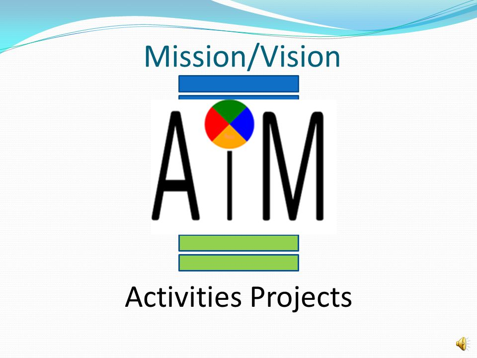 Organizational Mission Projects and Activities What's the Connection