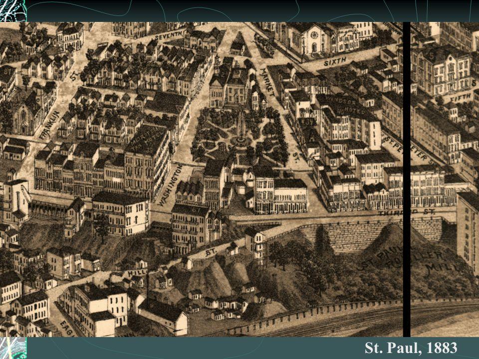 St. Paul, 1883
