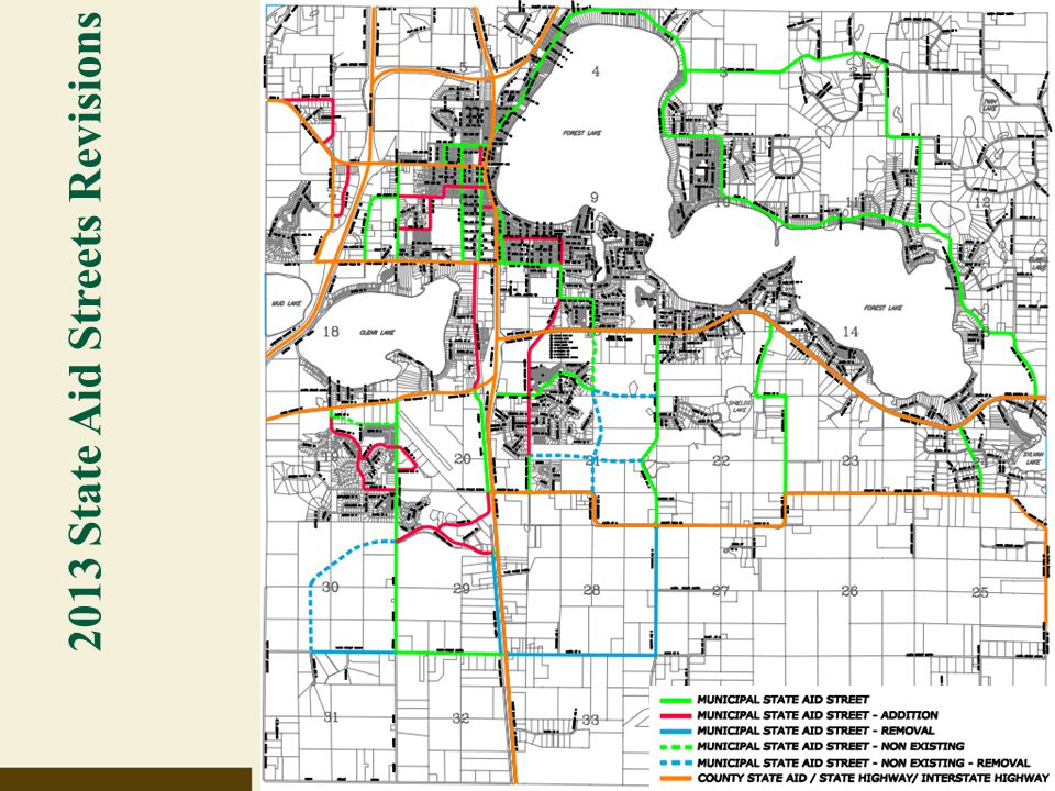 2013 State Aid Streets Revisions