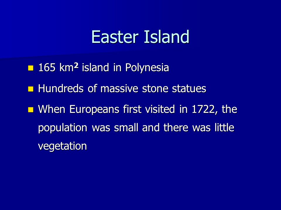 Easter Island History Colonized around 350 A.D.Colonized around 350 A.D.