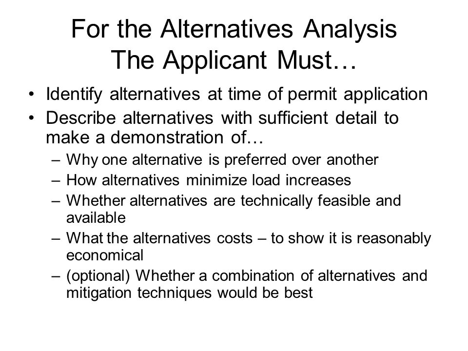 The applicant does not need to research cutting edge, innovative technologies.