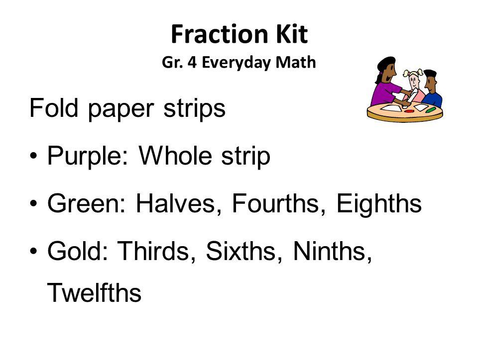 Fraction Kit Gr.