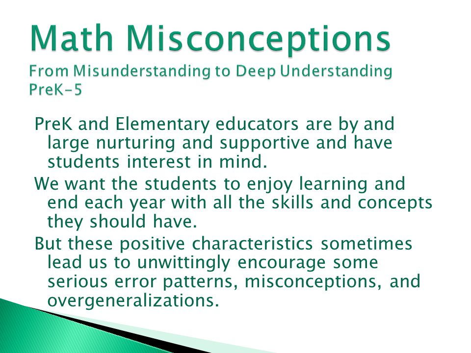 What the Research Says (continued) * Choosing from a variety of representations (concrete, pictorial, equations) helps students understand that some representations are more useful than others when solving a particular problem.