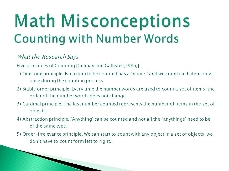 What the Research Says (continued) * Second reason – the algorithm treats the dividend as a set of digits rather than an entire numeral.