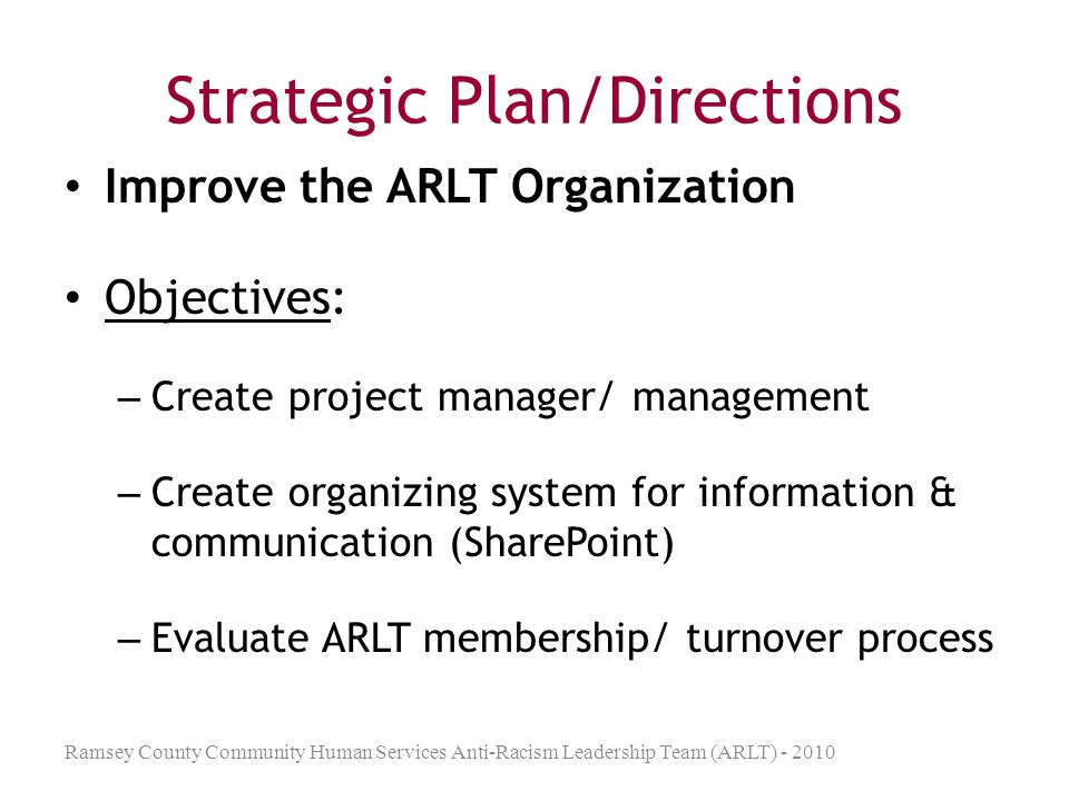Concepts Used in ARLT Developing allies / Being an ally Transformational vs.
