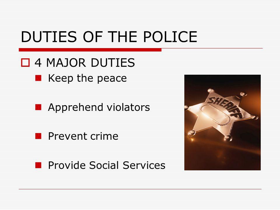 CRIMINAL JUSTICE POLICING IN AMERICA