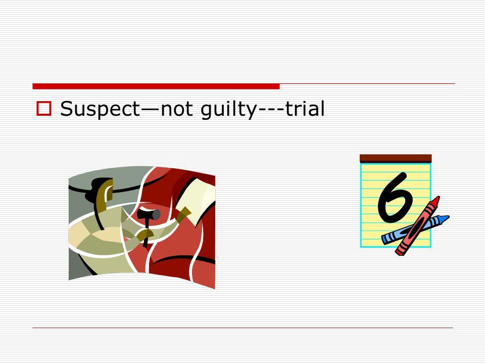  Suspect---guilty---plea bargain
