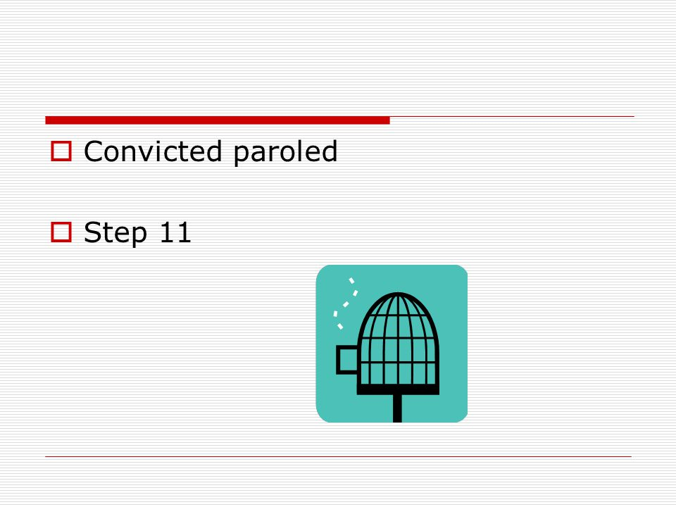  Convicted awarded privileges or punishments