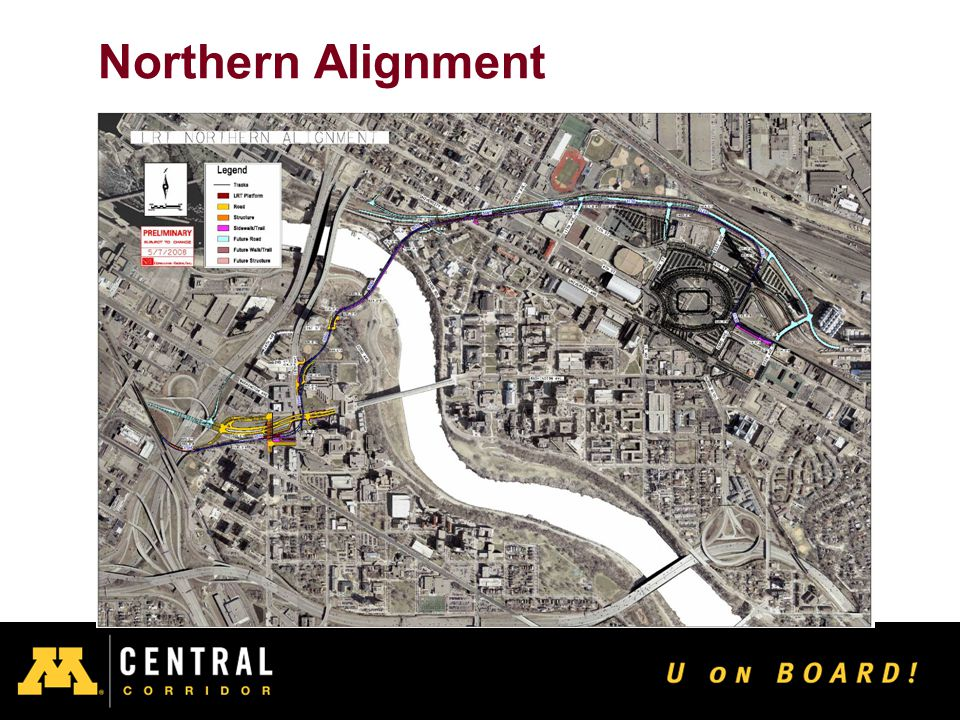 15 Northern Alignment