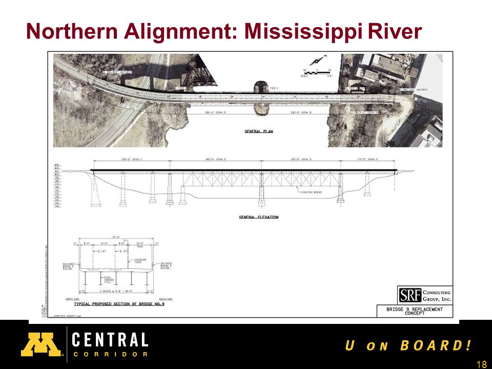 18 Northern Alignment: Mississippi River