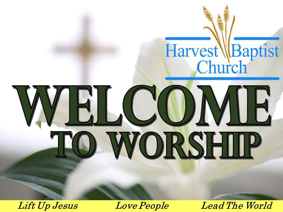 Lift Up JesusLove PeopleLead The World Pastoral Staff Dr.