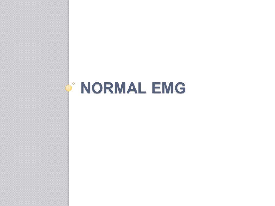 NORMAL EMG