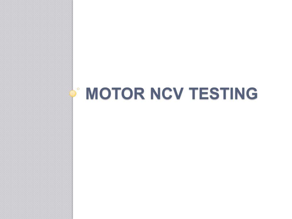 MOTOR NCV TESTING