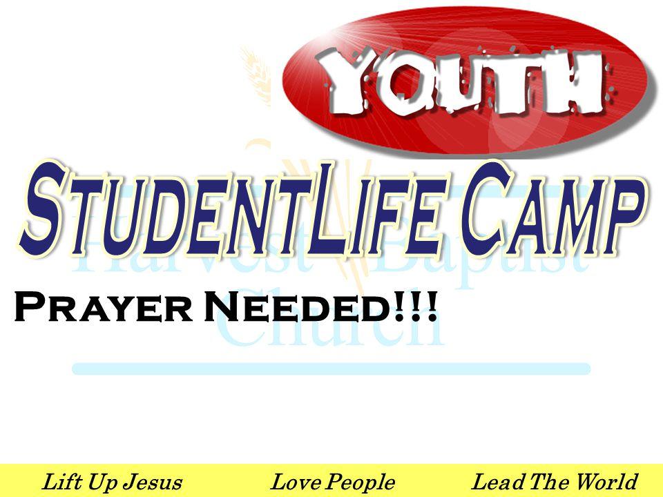 Lift Up JesusLove PeopleLead The World Prayer Needed!!!