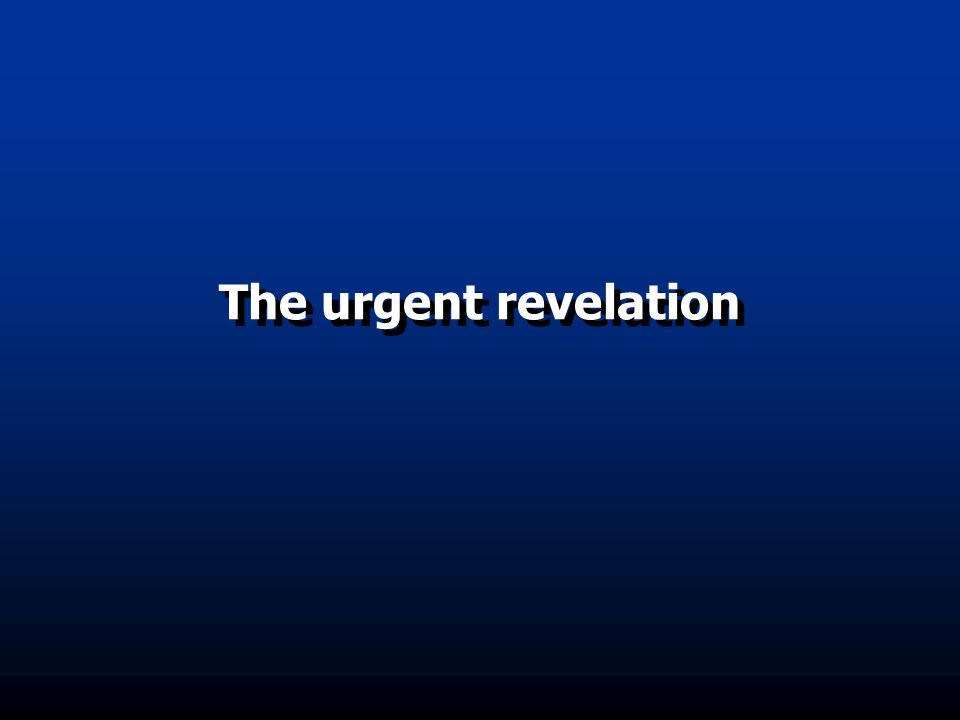  What is the urgent revelation. Where is Ghadeer-e-Khum located.
